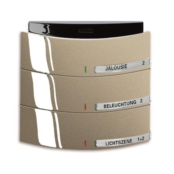 ABB Busch-triton 6320-0-0020 Painike Infrapuna, 3-napainen KNX Maalattu, matta, palladium