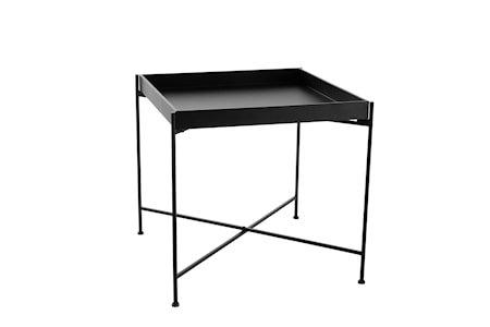 Brettbord i Metall Svart 55x55 cm