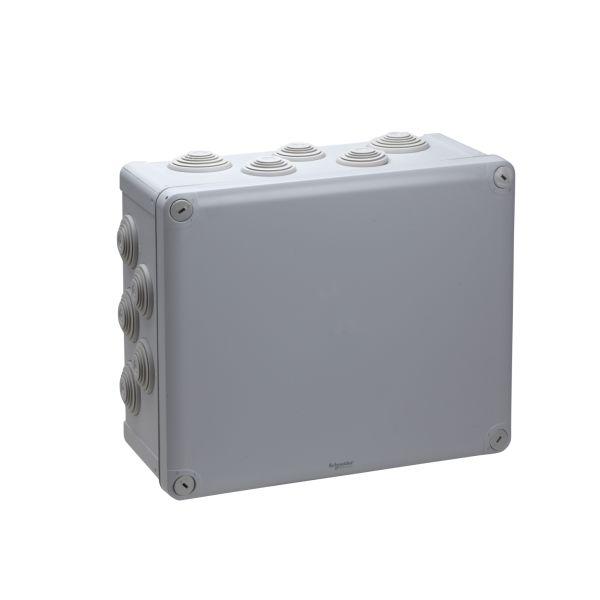 Schneider Electric ENN05017 Koblingsboks grå, skrulokk 275 x 225 x 120 mm