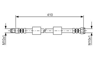 Bromsslang, Framaxel, Ytter, Fram, höger eller vänster