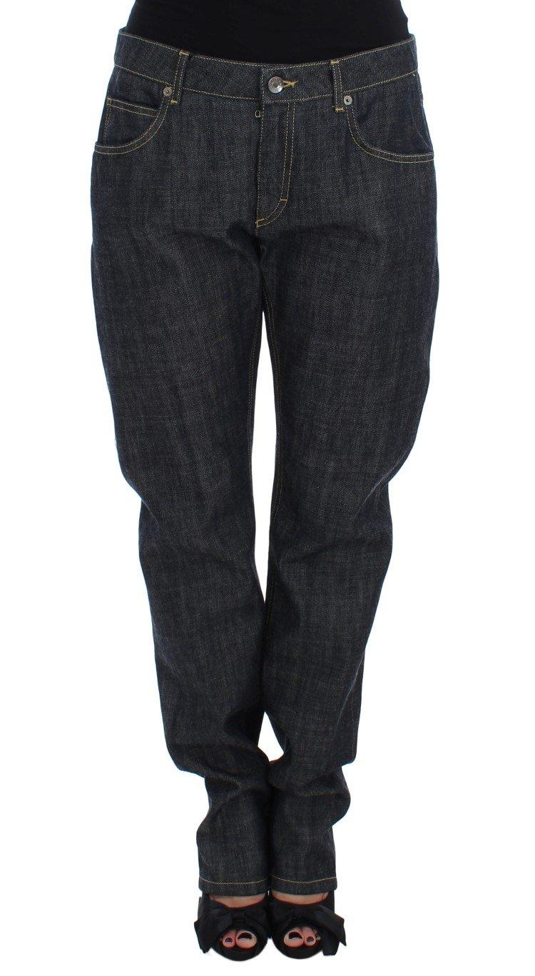 Dolce & Gabbana Women's Cotton Oversize Denim Jeans Blue SIG17253 - IT40|S