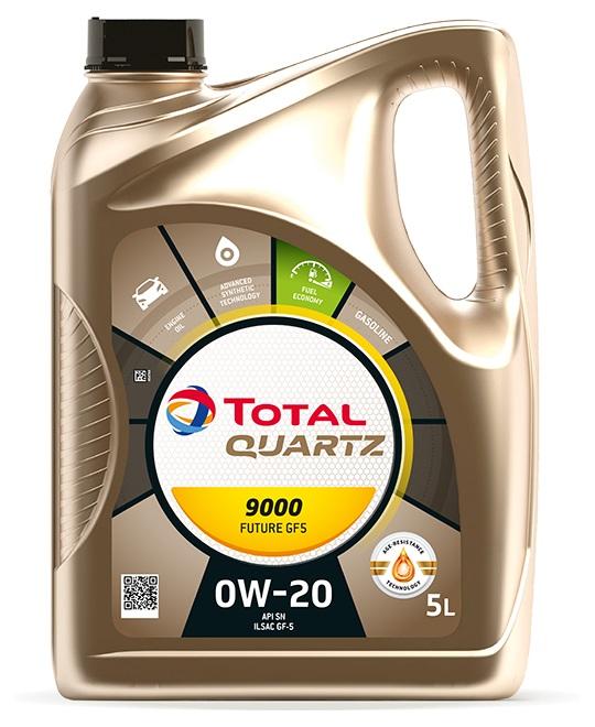Moottoriöljy TOTAL 0W20 QUARTZ FUTURE GF5 5L