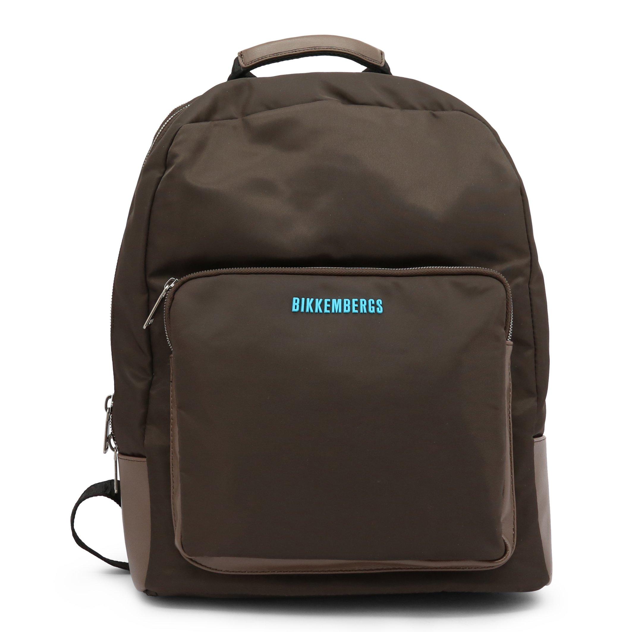 Bikkembergs Men's Backpack Various Colours E2BPME1Q0065 - brown NOSIZE