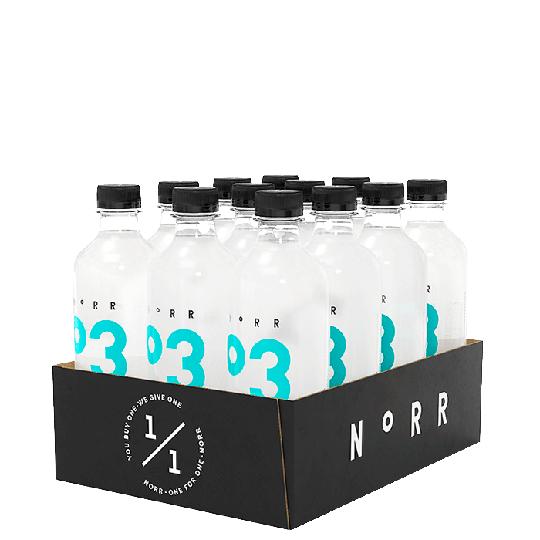 12 x NoRR Hydrate, 500 ml, 03 Yuzu