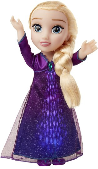 Disney Frozen 2 Elsa Syngende Dukke