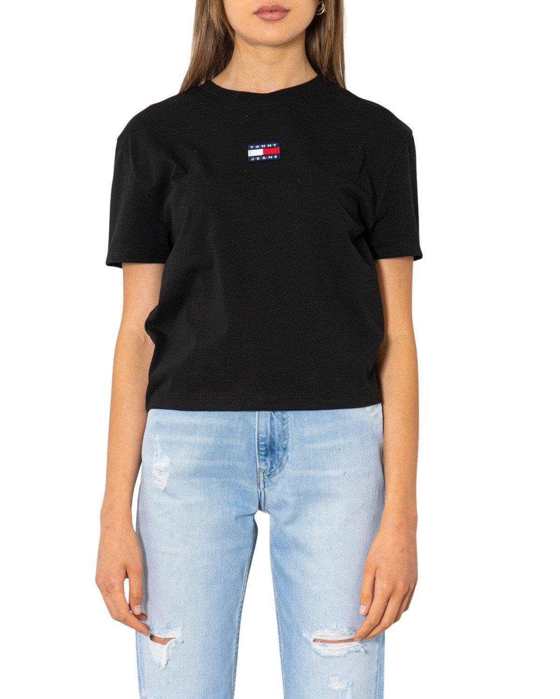 Tommy Hilfiger Jeans Women's T-Shirt Various Colours 299884 - black XXS