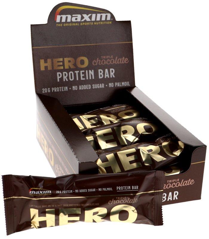 Proteiinipatukat Triple Chocolate 12kpl - 55% alennus