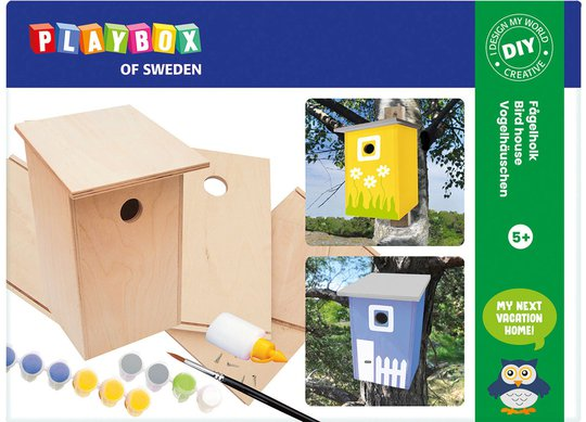 Playbox Puslesett Fuglehus