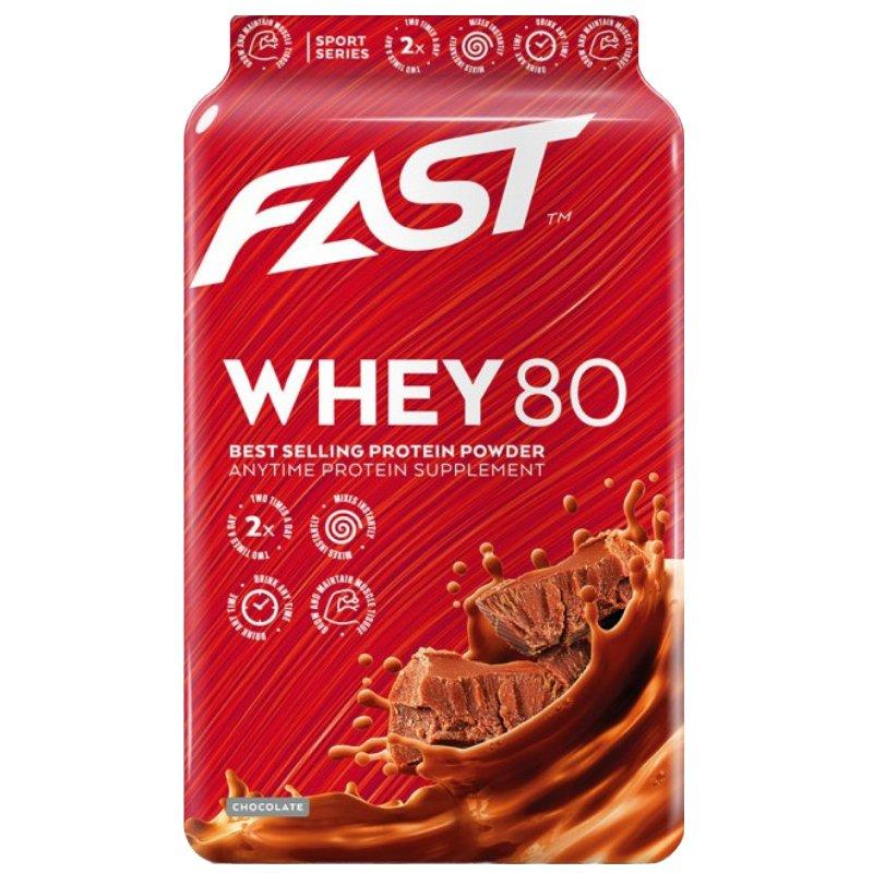 "Proteiinijauhe ""Whey 80"" 600g - 60% alennus"