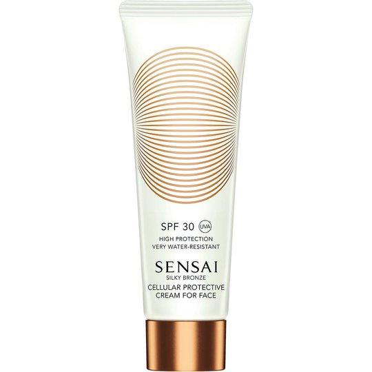 Silky Bronze Cellular Protective Cream For Face Spf30, Sensai Kasvojen aurinkotuotteet