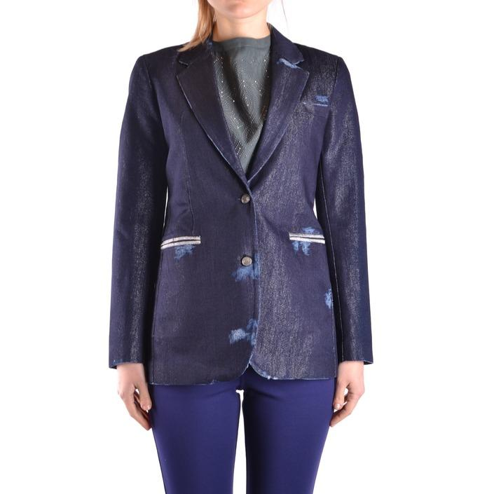 Jacob Cohen Women's Blazer Blue 162523 - blue 40
