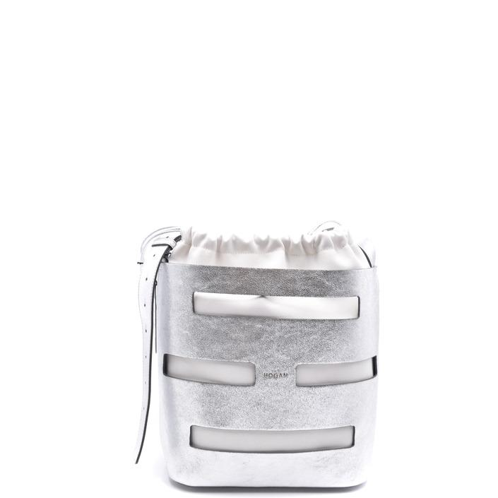 Hogan Women's Backpack Silver 253709 - silver UNICA