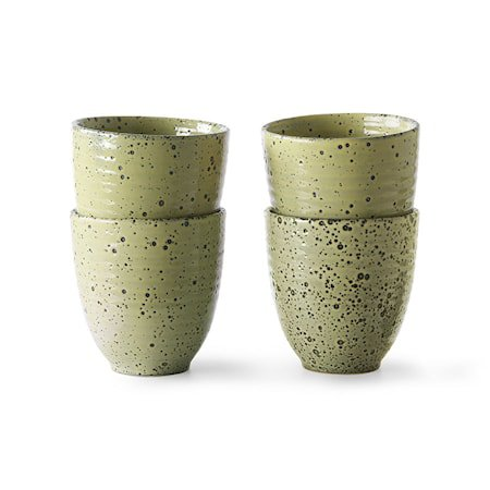 Gradient Ceramics Kopp Yellow 4 stk