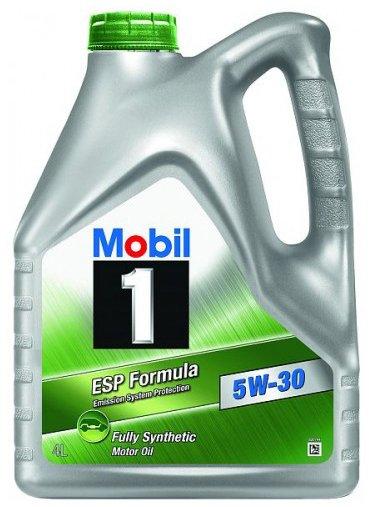 Moottoriöljy MOBIL 5W30 MOBIL 1 ESP 4L