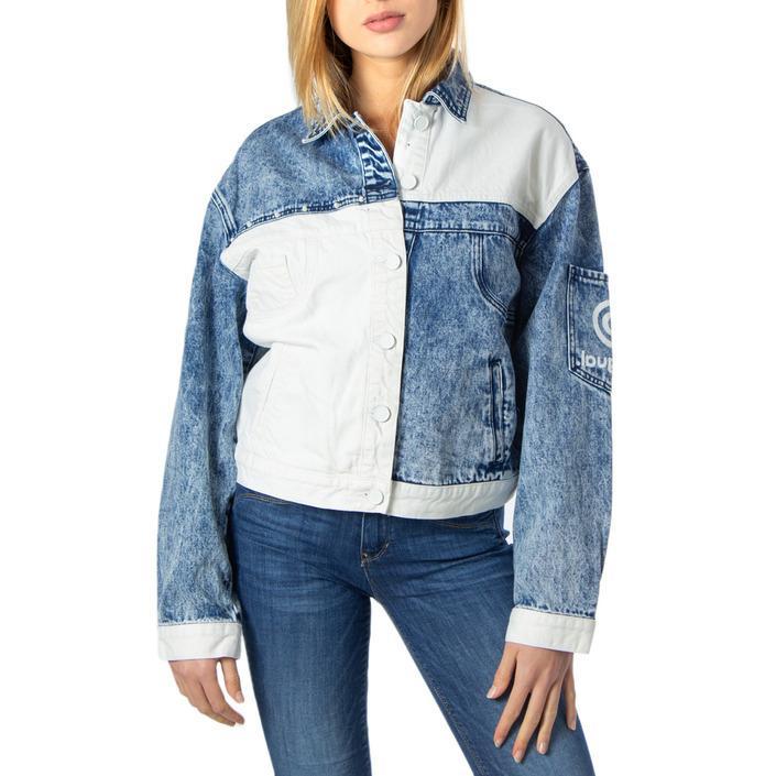 Desigual Women's Blazer Blue 170137 - blue M