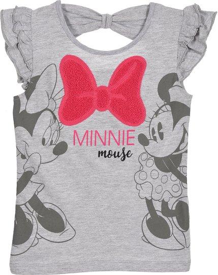 Disney Minni Mus T-Skjorte, Light Grey, 3 År