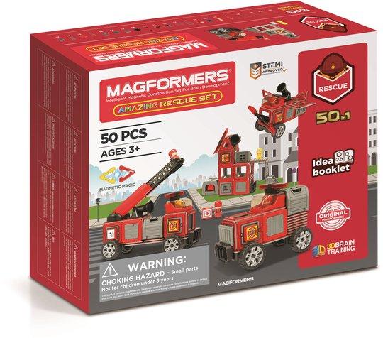 Magformers Byggesett Redningstjeneste 50 deler