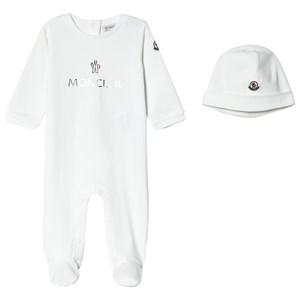 Moncler 2-delat Branded Baby Set Vitt 6-9 mån