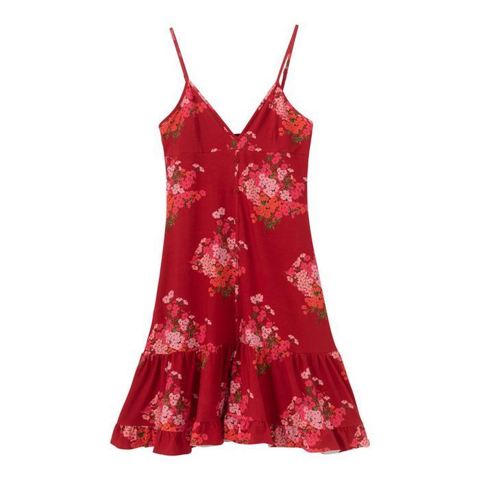 Desigual Women's Dress Red 203865 - red S