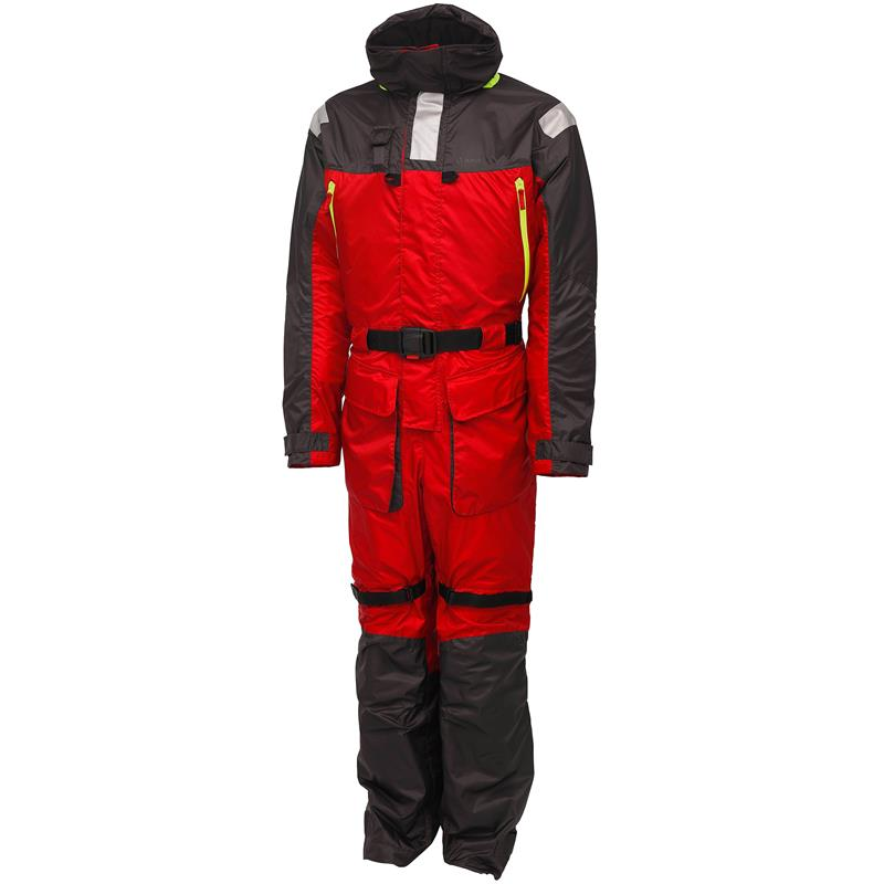 Kinetic Guardian Flotation Suit XXL Flytedress - Red/Stormy