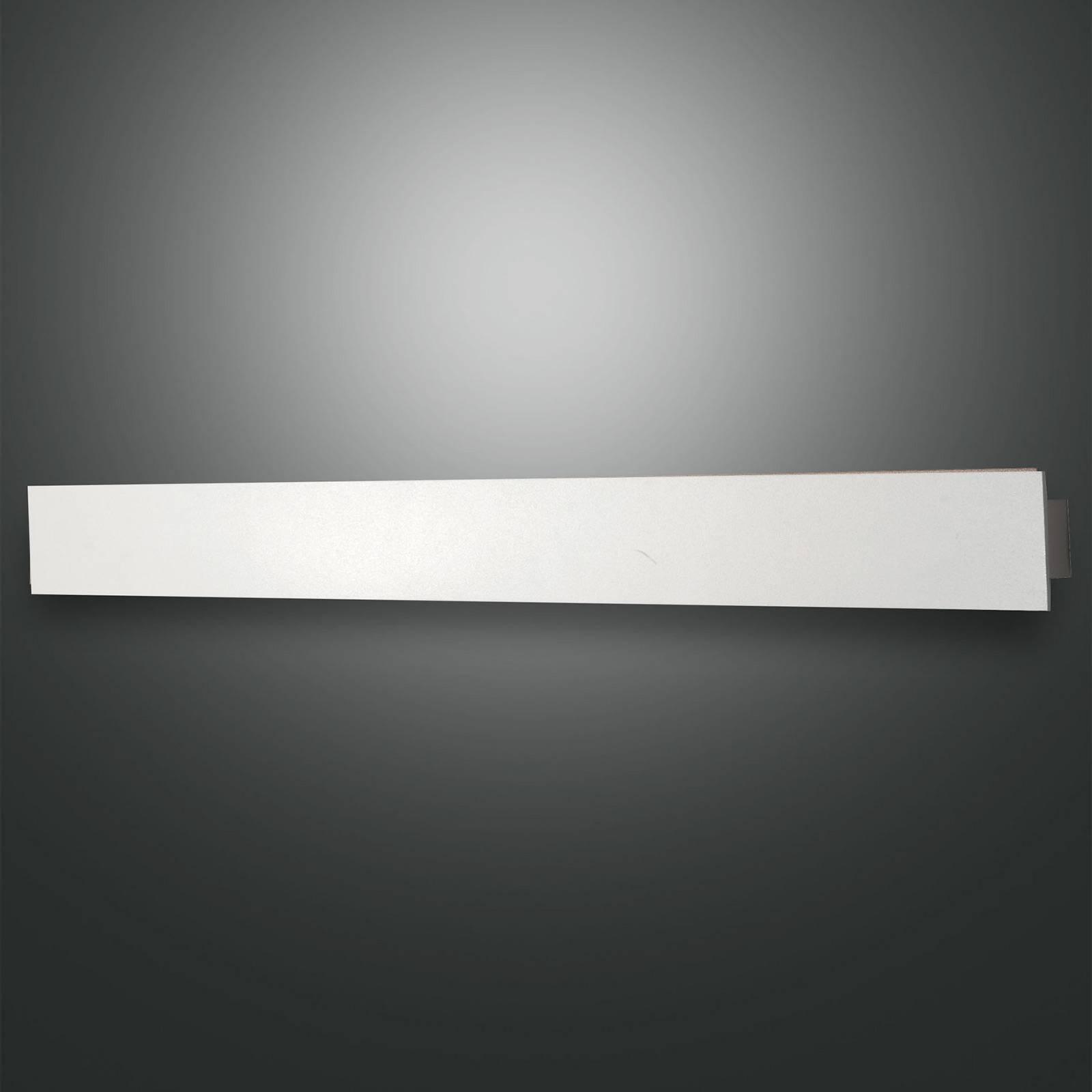 LED-vegglampe Lotus, hvit, 93 cm lang