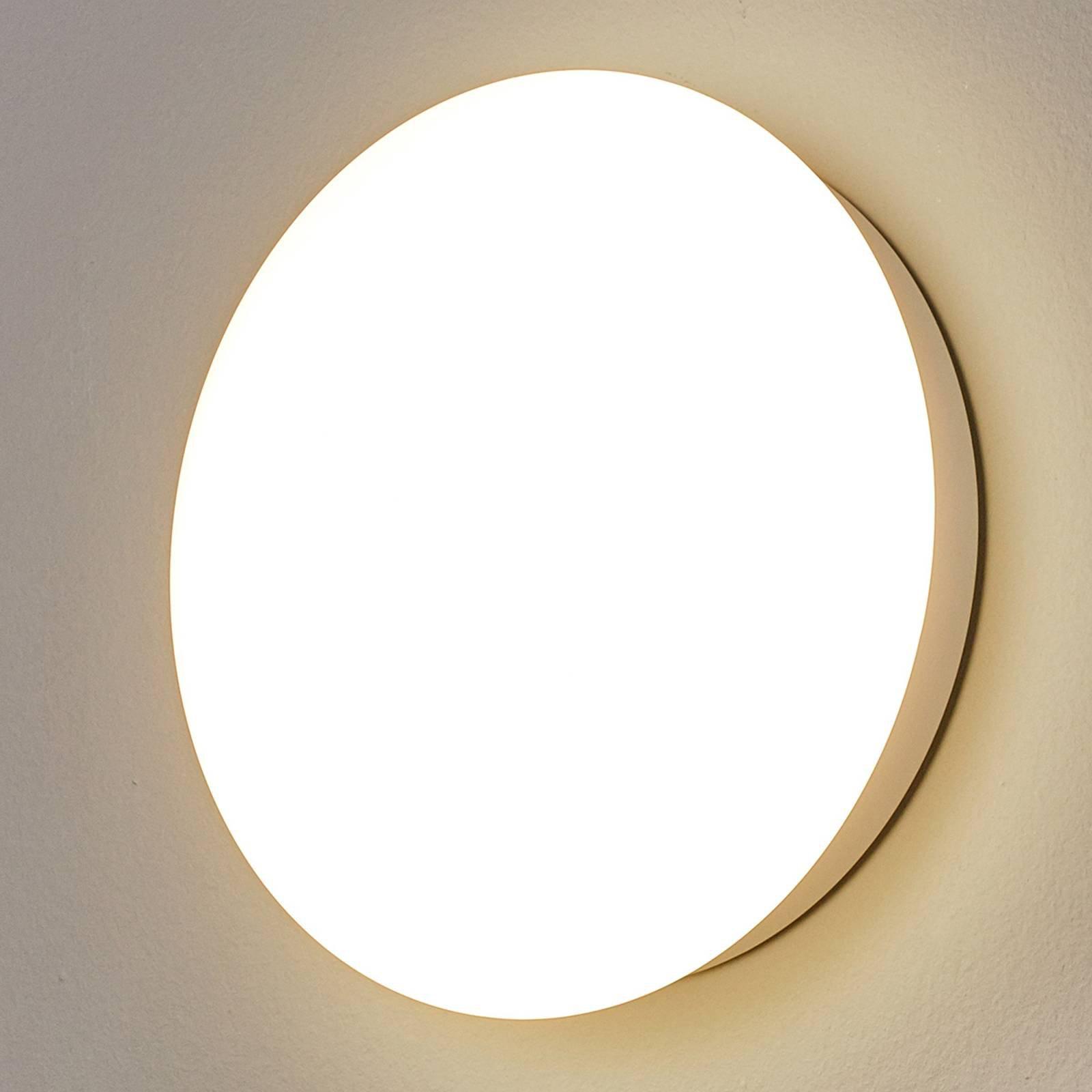 SUN 12 LED-vegglampe, IP55, 8 W, varmhvitt, 3000 K