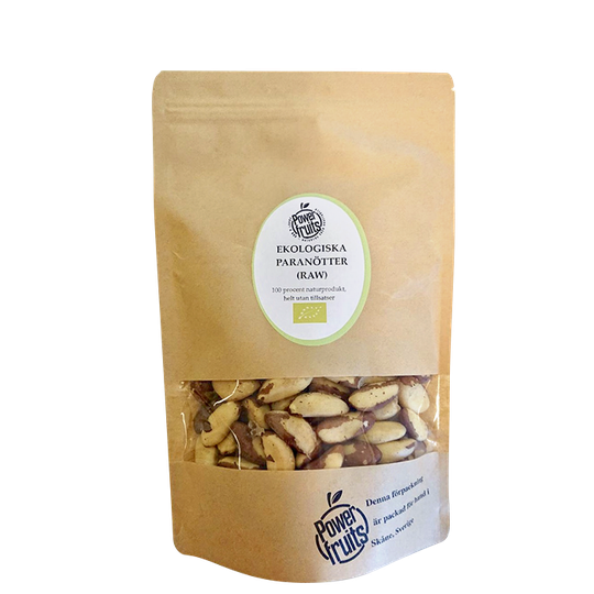 Ekologiska Paranötter, 500 g