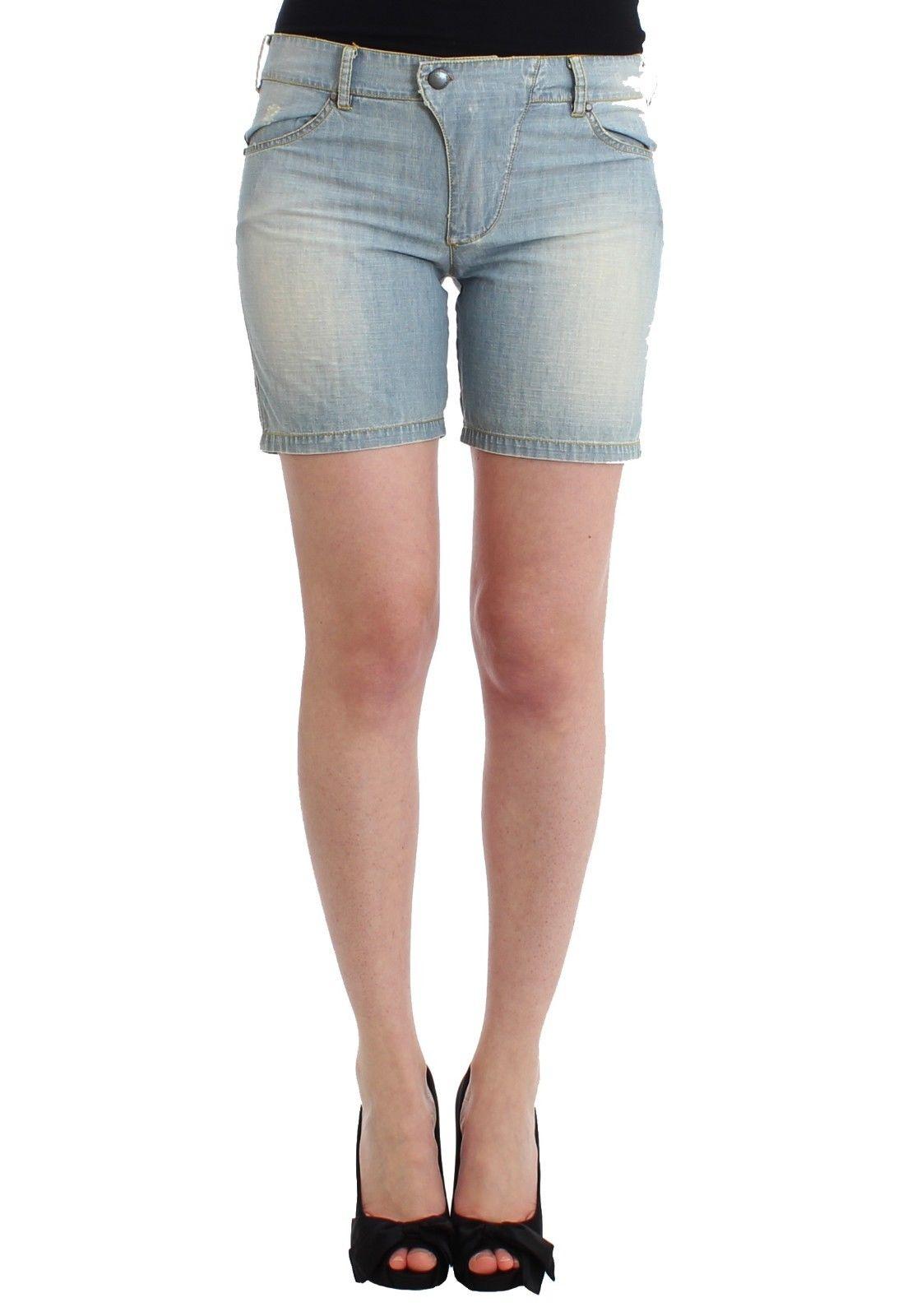 Ermanno Scervino Women's Denim Shorts Blue SIG11498 - IT2 | S