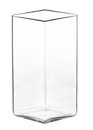 Ruutu vase 115x180 mm Klar