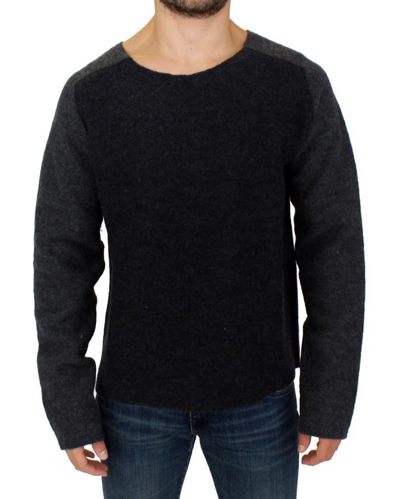 Costume National Men's Wool Crewneck Sweater Gray SIG10537 - IT48 | M