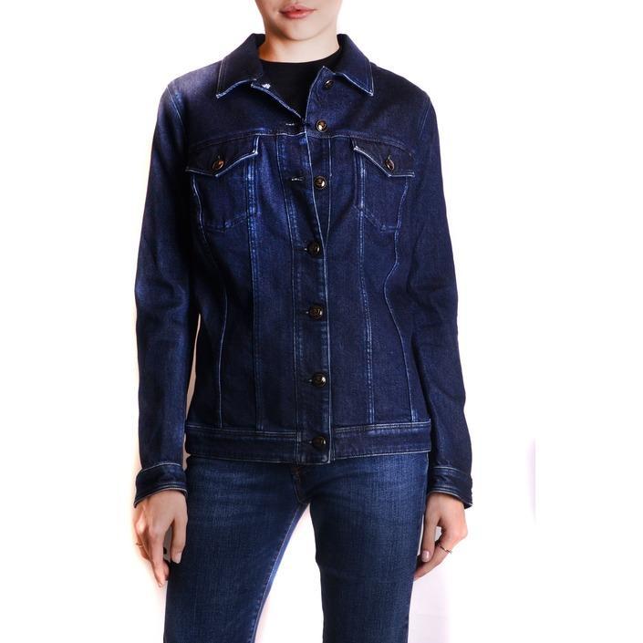 Jacob Cohen Women's Jacket Blue 162419 - blue S