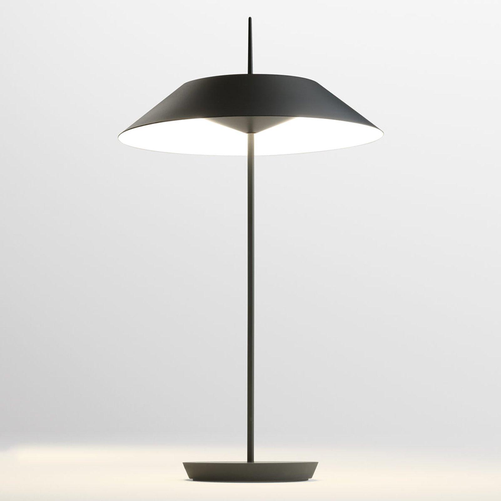 Vibia Mayfair LED-bordlampe, koksgrå