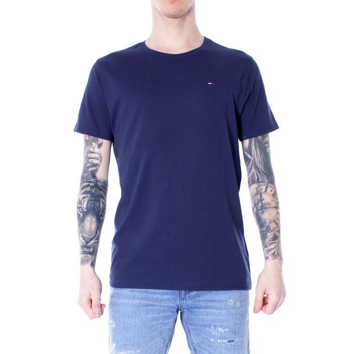 Tommy Hilfiger Men's T-Shirt Blue 166829 - blue XS