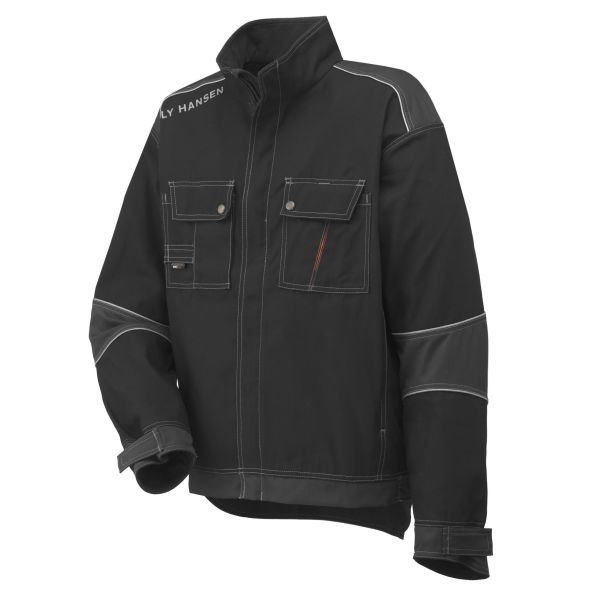 Helly Hansen Workwear Chelsea Jacka svart/grå S