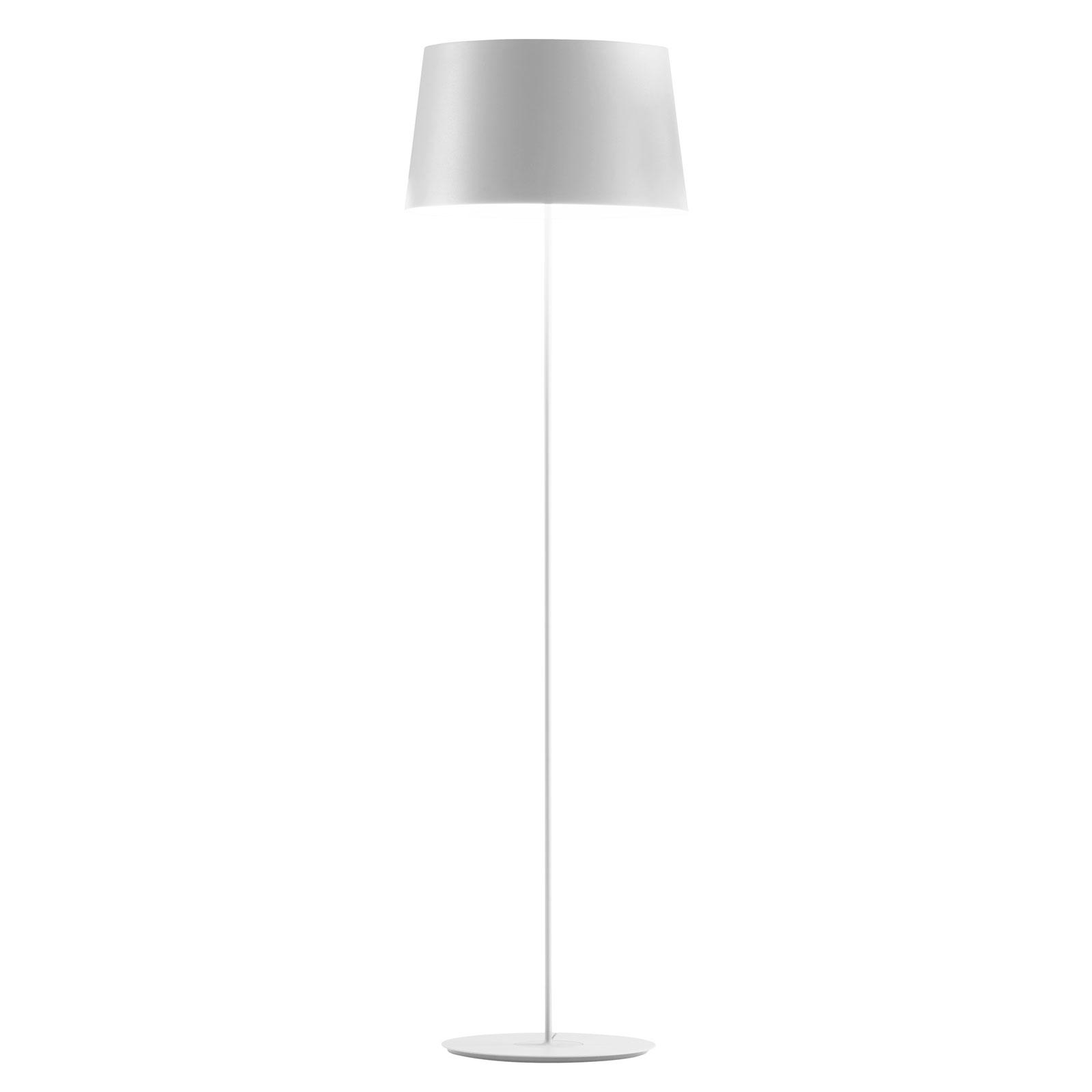 Vibia Warm 4906 designer-lattiavalo, valkoinen
