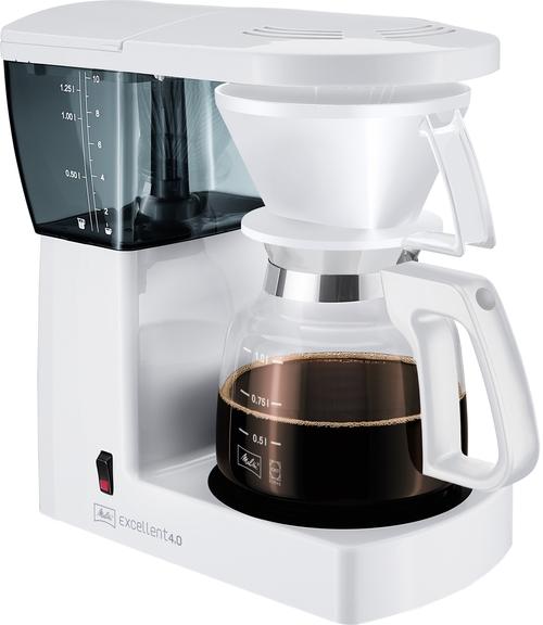 Melitta Excellent 4.0 White Kaffebryggare - Vit