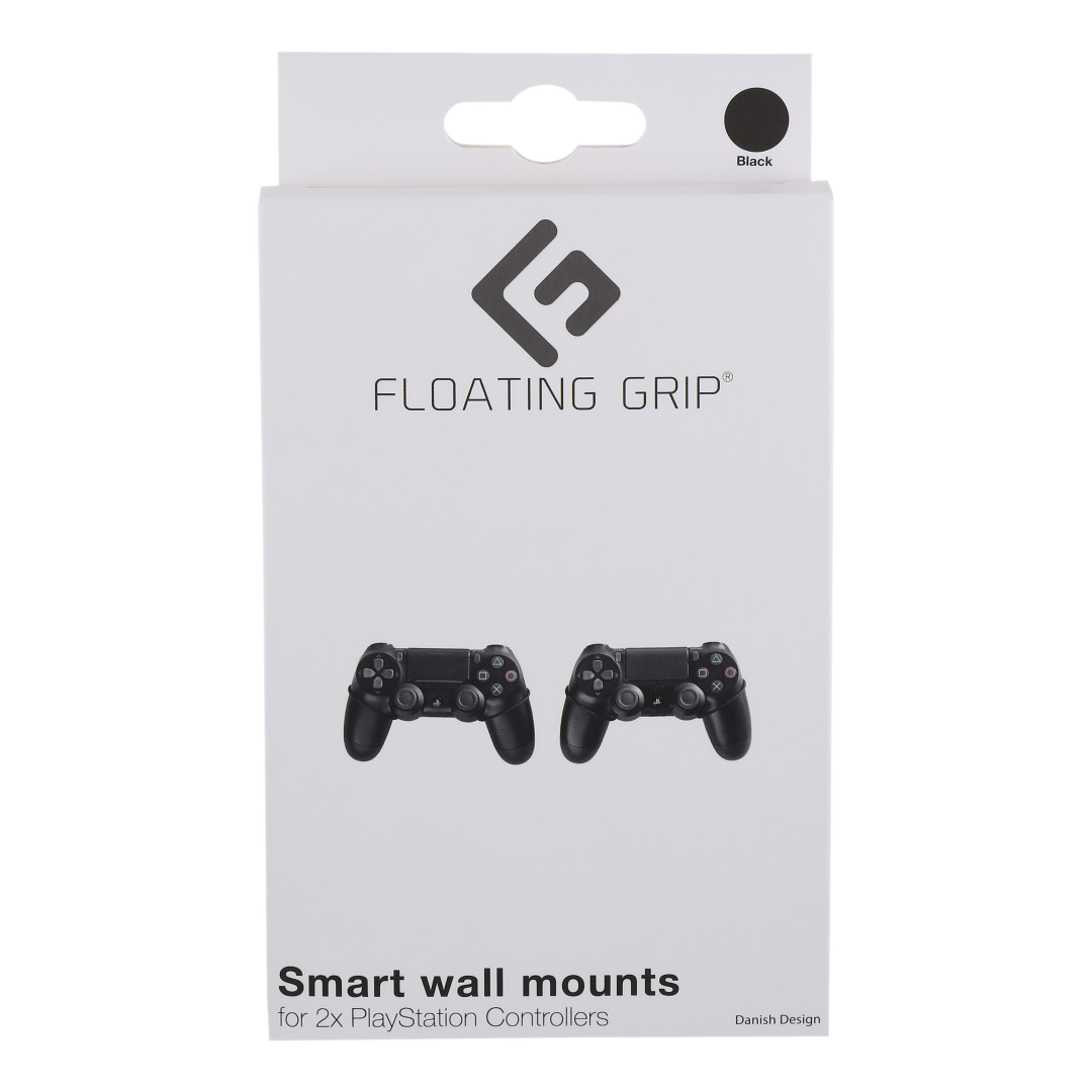 Floating Grips Playstation Controller Wall Mount