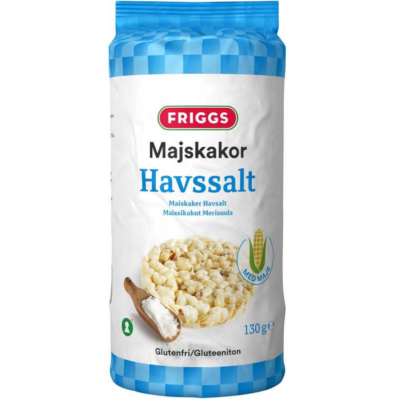 Maissikakut, merisuola 130 g - 47% alennus
