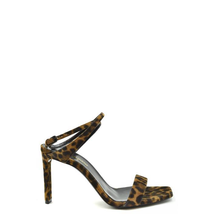Saint Laurent Women's Sandal Multicolor 179420 - multicolor 36.5
