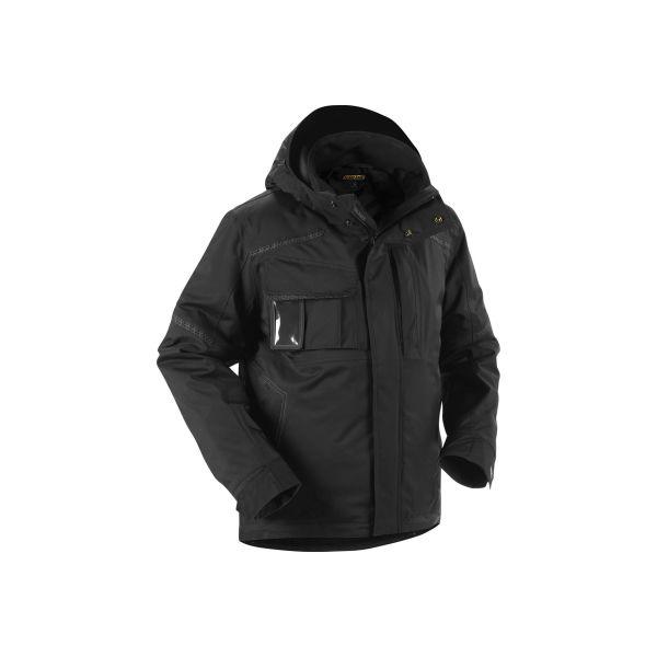 Blåkläder 488119879900L Varseljacka dam, varselgul/svart, vinter Stl XL