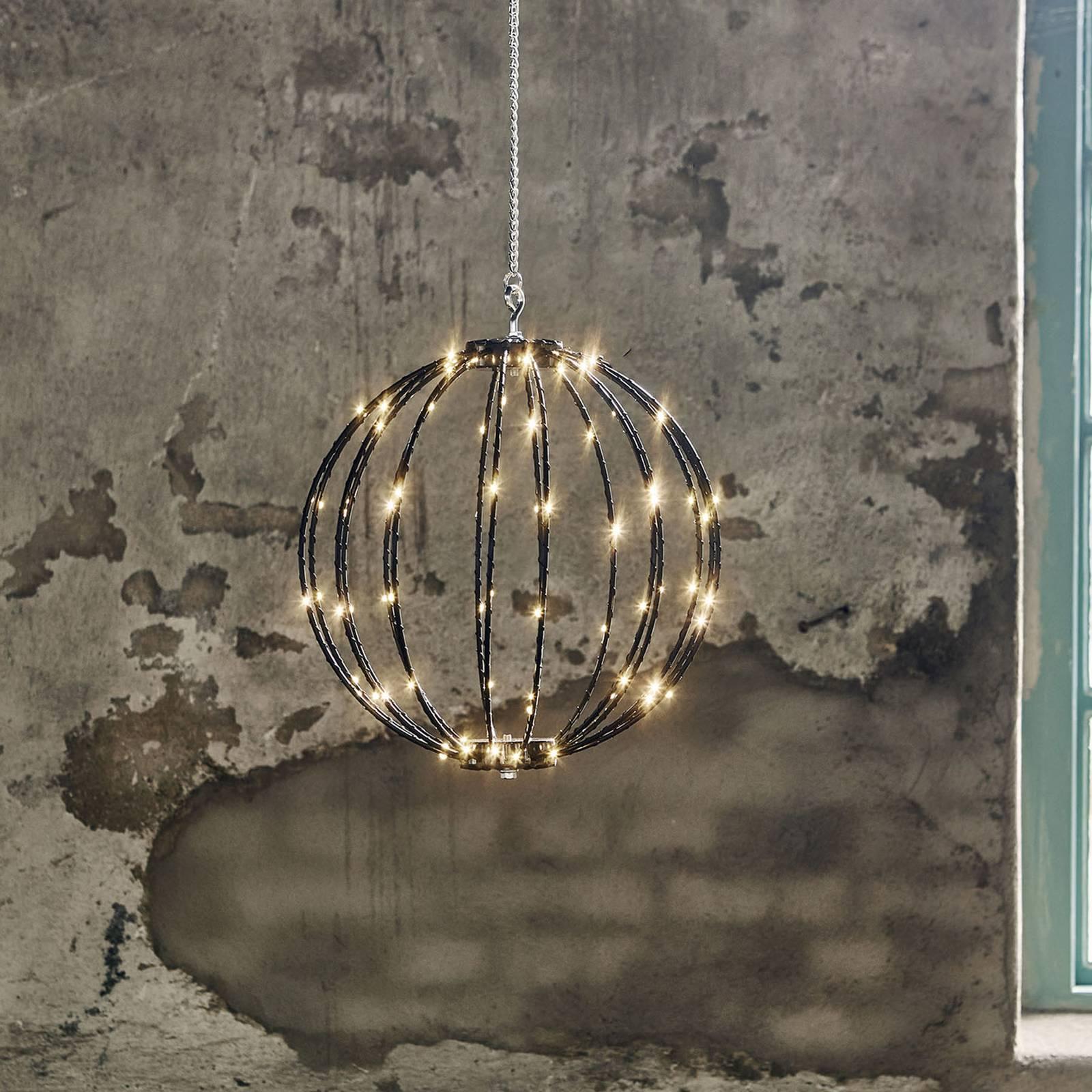 Mounty Outdoor -LED-riippuvalaisin, Ø 30 cm