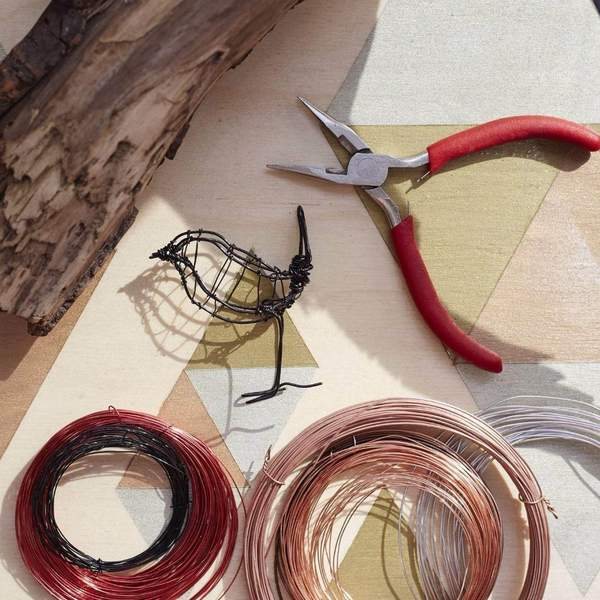 At Home: Create Wire Sculptures + Live workshop