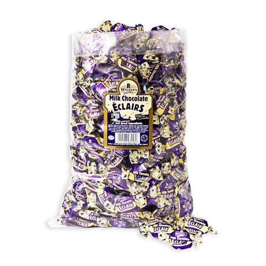 "Hel Låda Mjölkchoklad ""Toffees"" 2,5kg - 85% rabatt"