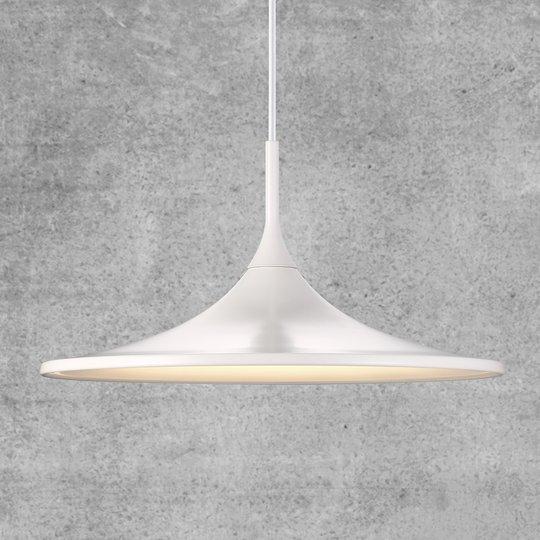 Leveä varjostin - LED-riippuvalaisin Skip 35 cm