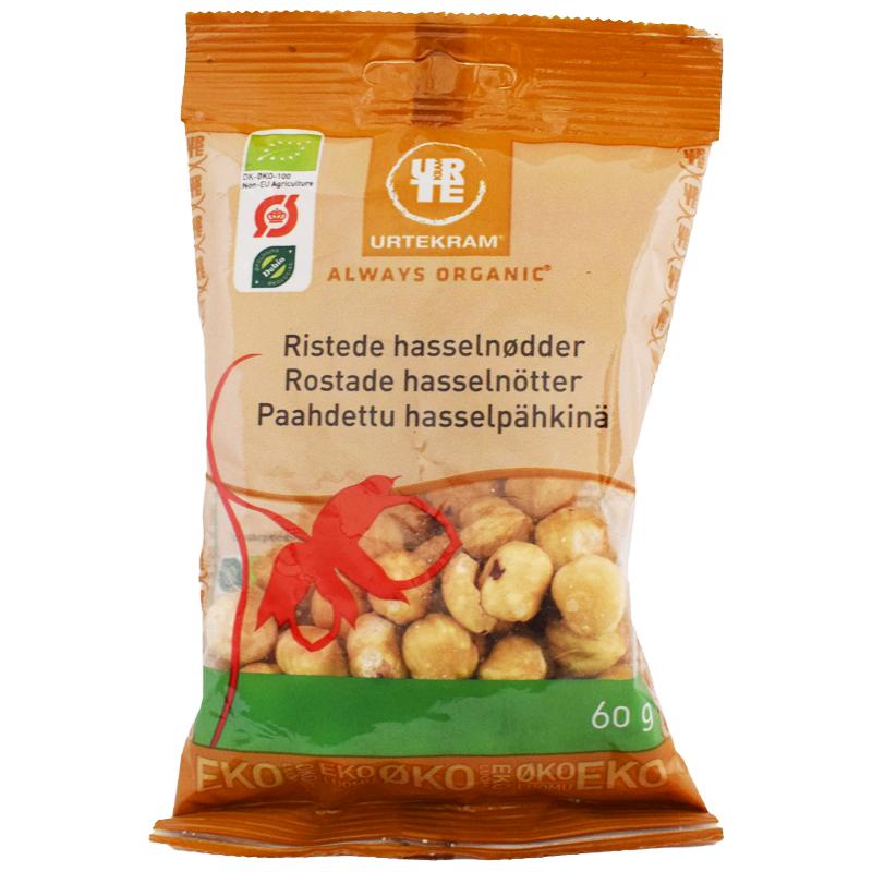 Eko Rostade Hasselnötter 60g - 44% rabatt