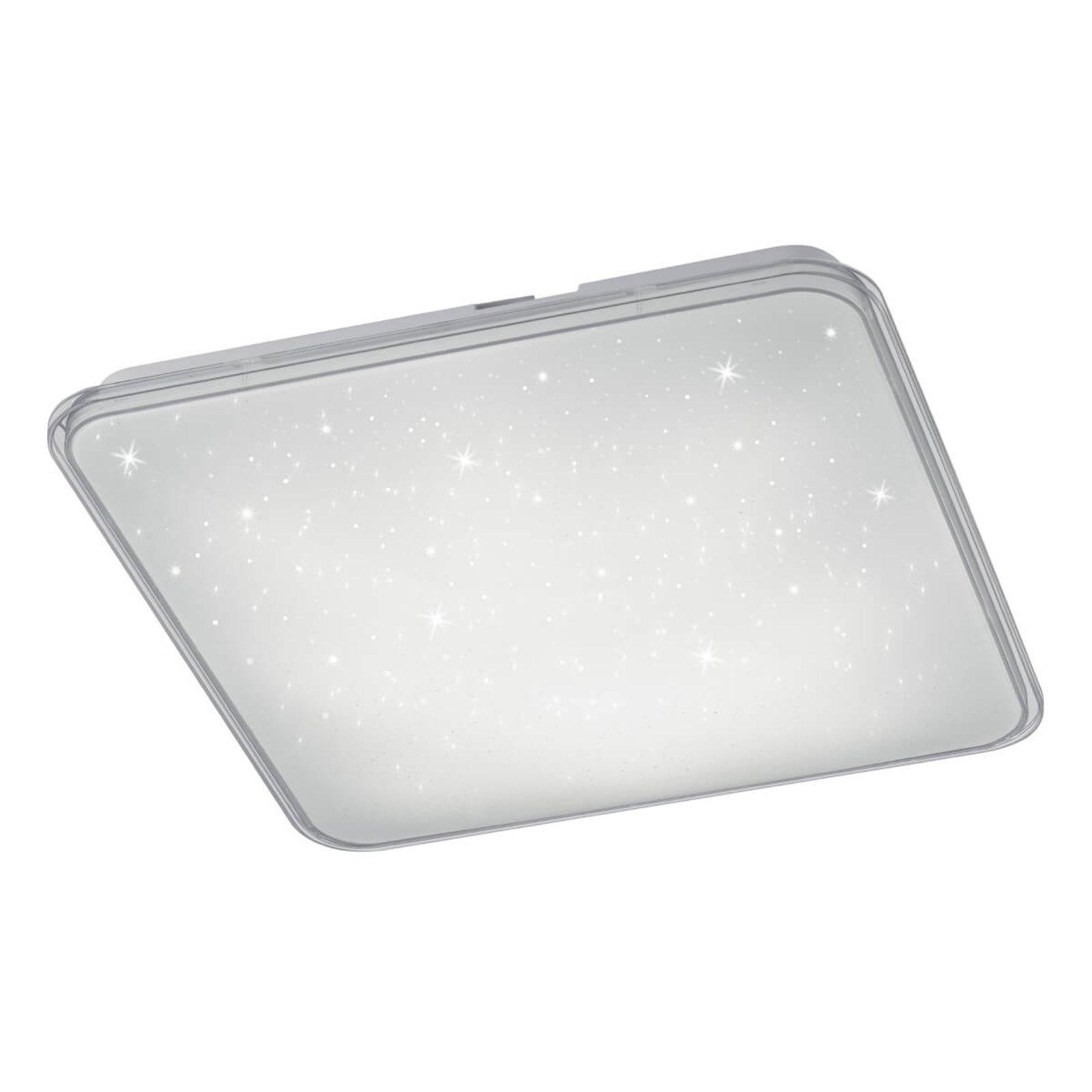 Kvadratisk LED-taklampe Contrast