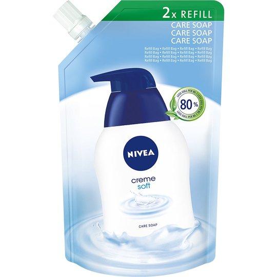 Creme Soft Cream Soap Refill, 500 ml Nivea Käsienhoito