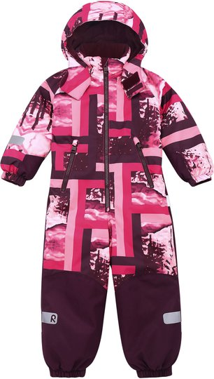 Reimatec Snowy Kiddo Vinterdress, Raspberry Pink, 104