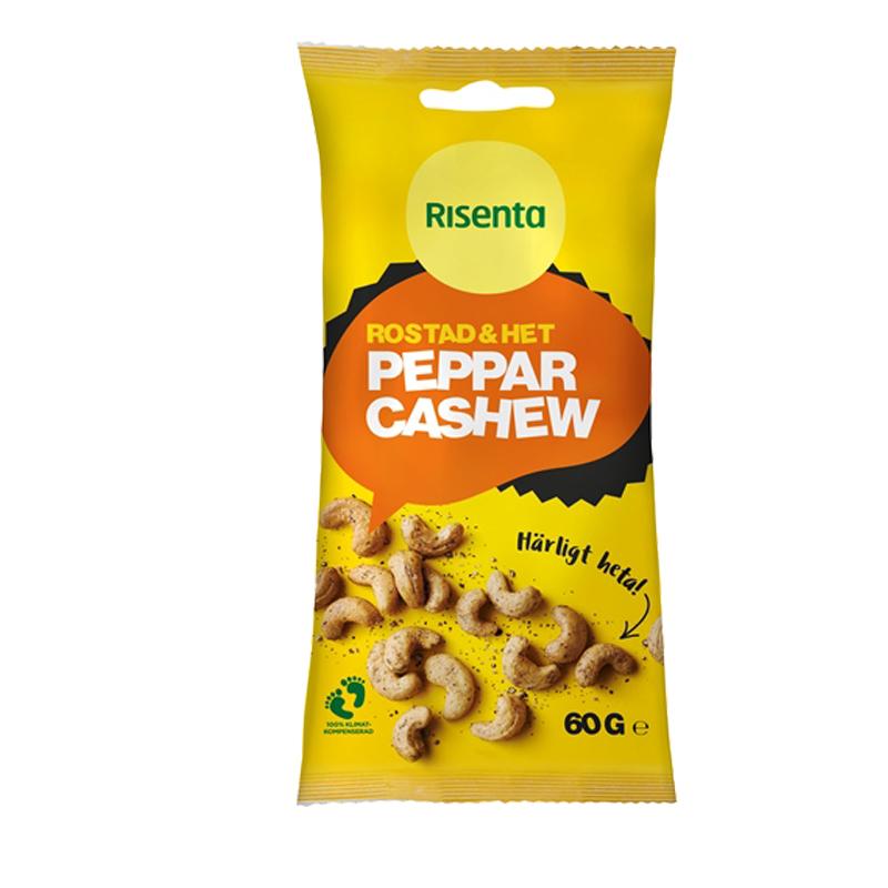 Cashewnötter Peppar - 26% rabatt