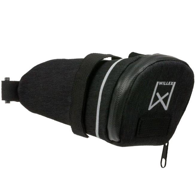 vidaXL Sadelväska 200 L 1,8 L svart